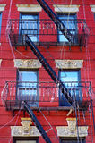 Tenement in Little Italy Royalty Free Stock Images