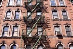 Tenement in Manhattan. Tenement in lower Manhattan, New York stock photography