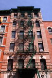 Tenement in Manhattan. Tenement in lower Manhattan, New York royalty free stock photos