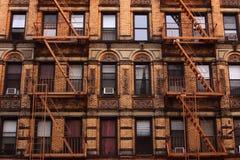 Tenement in Manhattan. Tenement in lower Manhattan, New York royalty free stock photo