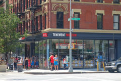 Tenement Museum. The Lower East Side Tenement Museum, a national historic site devoted to the immigrant experience in New York City royalty free stock photo