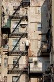 tenement york города здания новый стоковые изображения