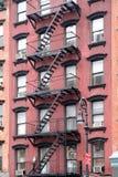 tenement york города новый стоковая фотография