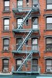 tenement york города новый стоковое фото