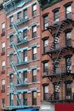 tenement york города новый стоковая фотография rf