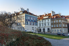 Tenements at Mostowa street in Warsaw Stock Images