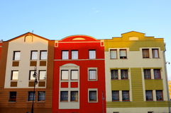 Tenements. Royalty Free Stock Photo