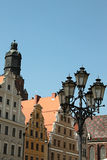 Tenements in Wroclaw Royalty Free Stock Photo