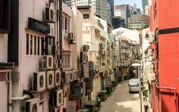 Tenendo fresco a Singapore Fotografia Stock Libera da Diritti