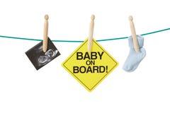 Tener concepto del bebé fotografía de archivo