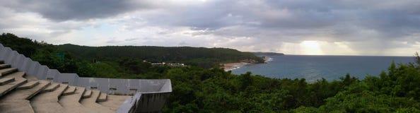 Tener un a la vista del Caribe fotografía de archivo libre de regalías