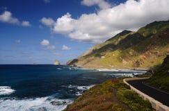 Tenereife coast. Tenerife coast, Canary Island, Spain Royalty Free Stock Photo