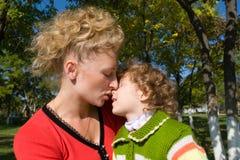 Tenerezza di amore Fotografie Stock Libere da Diritti