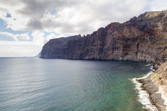 Tenerife απότομος βράχος Στοκ Φωτογραφία