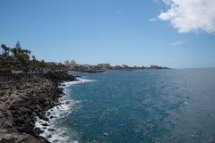Tenerife γραμμή ακτών στοκ εικόνα με δικαίωμα ελεύθερης χρήσης