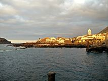 Tenerife ηλιοβασίλεμα Στοκ Φωτογραφία
