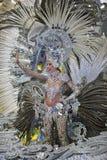 TENERIFE, στις 13 Φεβρουαρίου, χαρακτήρες και ομάδες στο καρναβάλι Στοκ Εικόνες