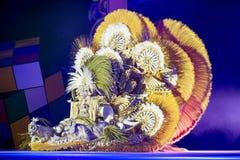 TENERIFE, ΣΤΙΣ 3 ΦΕΒΡΟΥΑΡΊΟΥ: Μεγάλο Gala της επιλογής για τη βασίλισσα Carn Στοκ Φωτογραφία