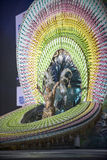 TENERIFE, ΣΤΙΣ 3 ΦΕΒΡΟΥΑΡΊΟΥ: Μεγάλο Gala της επιλογής για τη βασίλισσα Carn Στοκ Φωτογραφίες