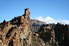 山tenerife 图库摄影