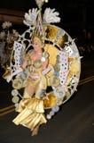 TENERIFE, 12 DE FEBRERO: Grupo en el carnaval Imagen de archivo