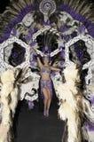 TENERIFE, 17 DE FEBRERO: Candidato al carnaval Quee Foto de archivo libre de regalías