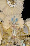 TENERIFE, 17 DE FEBRERO: Candidato al carnaval Quee Imagen de archivo libre de regalías