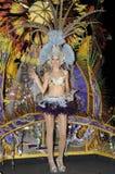 TENERIFE, 17 DE FEBRERO: Candidato al carnaval Quee Foto de archivo