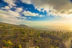 Tenerife afton Royaltyfria Bilder