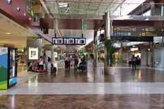 Tenerife airport Stock Photography
