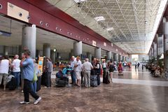 Tenerife Airport Royalty Free Stock Images