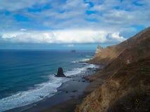 Tenerife, Anaga fotografía de archivo