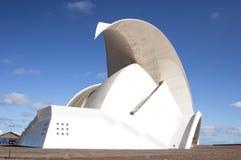 Tenerife Auditorium opera Stock Image