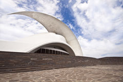 Tenerife Auditorium opera by Santiago Calatrava Royalty Free Stock Photography