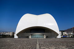 Tenerife Auditorium in Spain Royalty Free Stock Photography