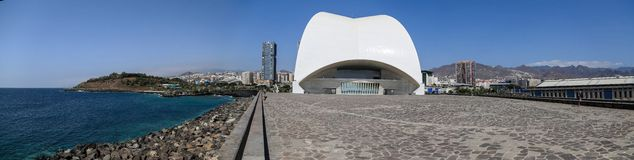 Tenerife Auditorium in Spain Stock Image