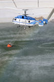 TENERIFE, AUGUST 3: Fire fighting Helicopter Stock Photos