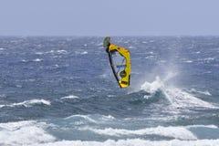TENERIFE AUGUSTI 11: PWA som surfar, Augusti 11, 2017 Tenerife Royaltyfria Foton