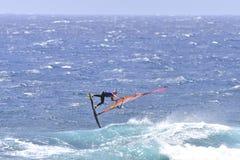 TENERIFE 11 AUGUSTUS: PWA die, 11 Augustus, 2017 Tenerife surfen Royalty-vrije Stock Foto's