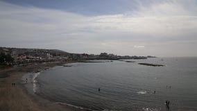 Tenerife beach coast Atlantic ocean Las Americas video stock footage