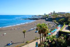 Tenerife beach Stock Photography