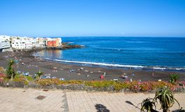 Tenerife beach Royalty Free Stock Photography