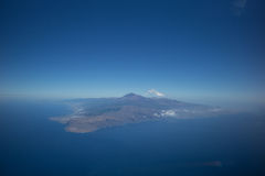 Tenerife bird's-eye view Royalty Free Stock Photo