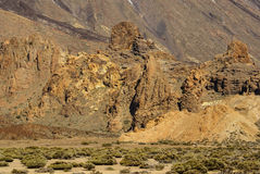 Tenerife, Canary Islands, Spain - volcano Teide National Park. M Royalty Free Stock Photo