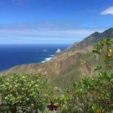 Tenerife Canaryislands Hiszpania góry Zdjęcia Stock