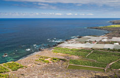 Tenerife coast Royalty Free Stock Photography