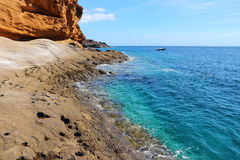 Tenerife coast Royalty Free Stock Photos
