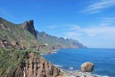Tenerife coast of Anaga Royalty Free Stock Photos