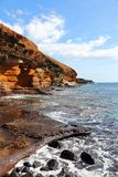 Tenerife coast Stock Photography