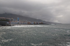 Tenerife coast Royalty Free Stock Photo